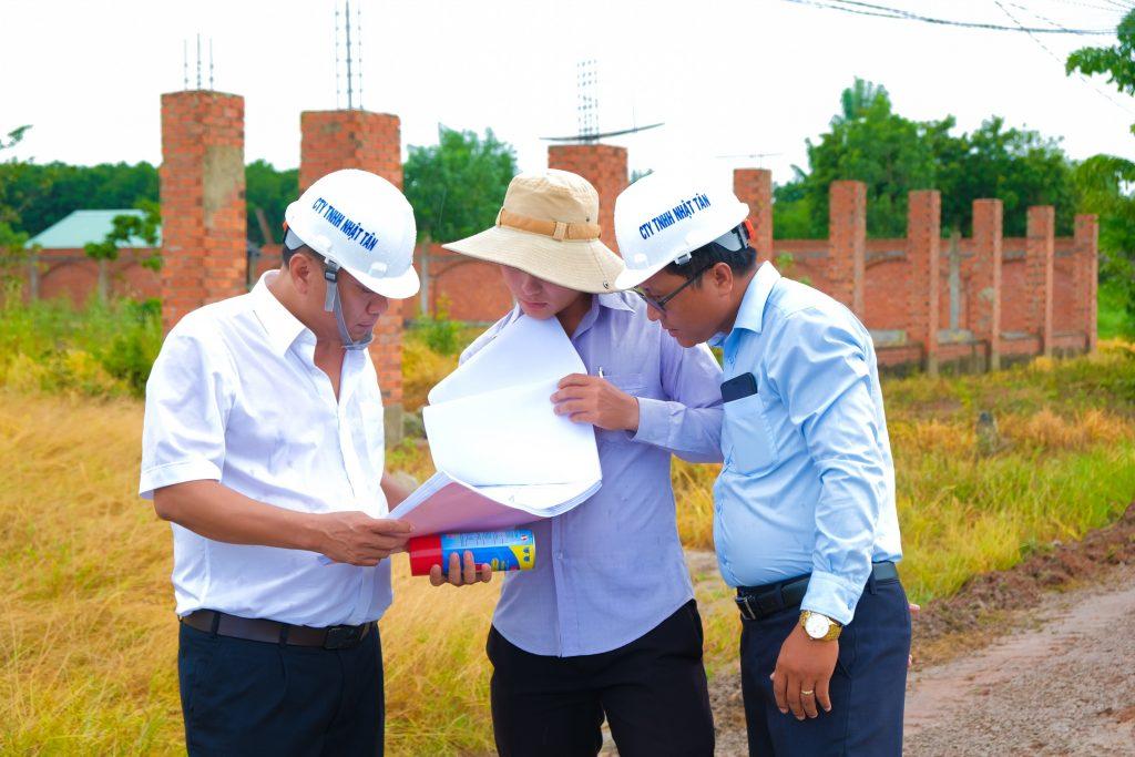 Lễ khởi công động thổ tuyến đường Minh Hưng, Minh Thạnh